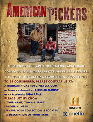 American Pickers Flyer 2